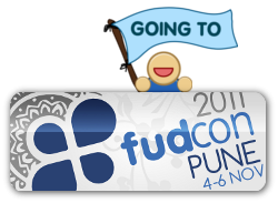 going to fudcon pune 2011